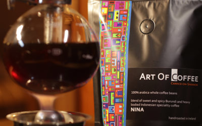 Nina blend – the joy of working with coffee