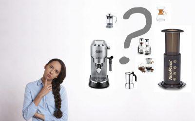 Choosing brewing equipment