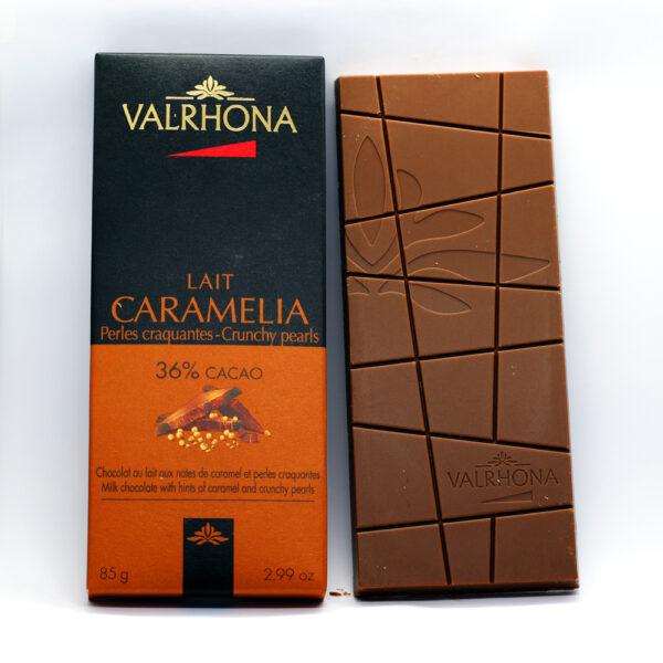 Valrhona Lait Caramelia chocolate bar