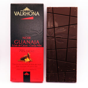 Valrhona Guanaja chocolate bar